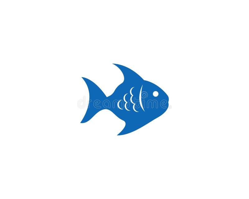 Fish logo template Creative vector symbol. Abstract, concept, design, draw, elegant, element, fishing, graphic, icon, isolated, label, line, marine, minimalis vector illustration