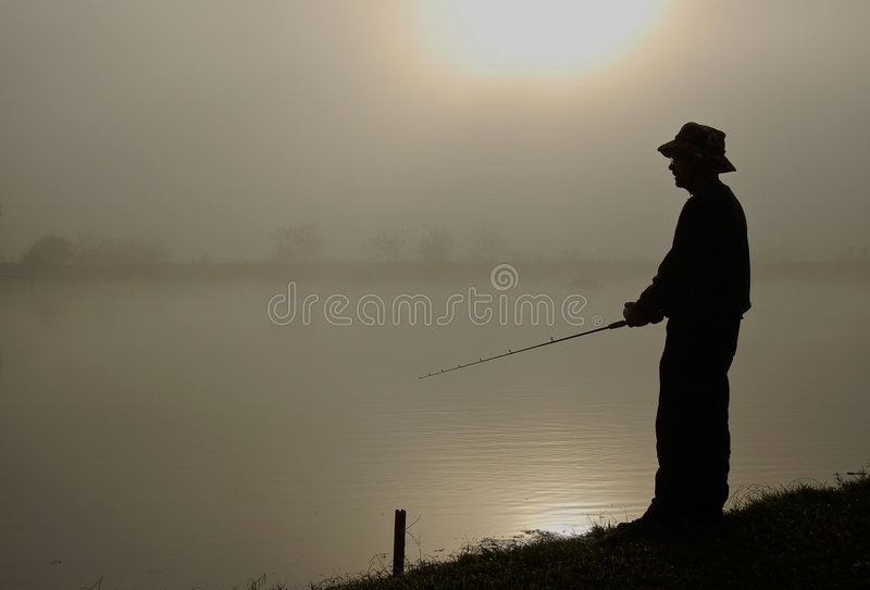 Download Fish Man stock image. Image of back, dusk, relaxation - 6748229