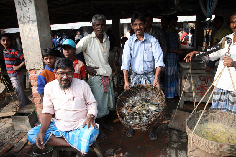 Download Fish Market In Kumrokhali Editorial Stock Image - Image: 21436944