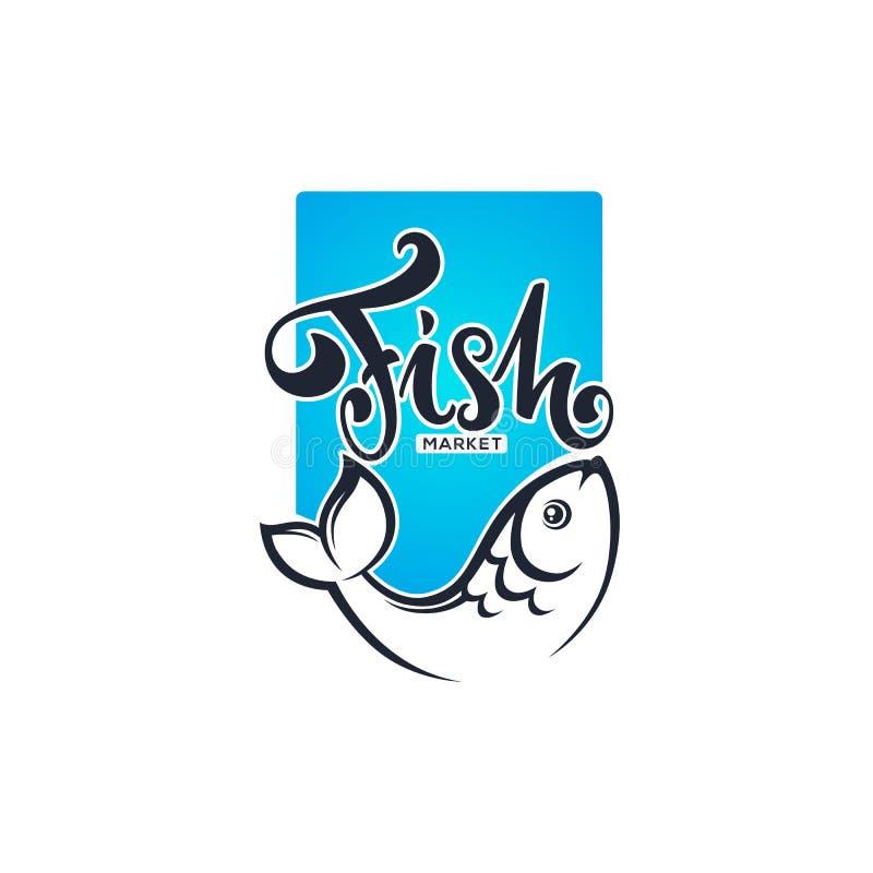 fish market or shop logo with lettering comosition and carp imag rh dreamstime com carp logo design carp logo design
