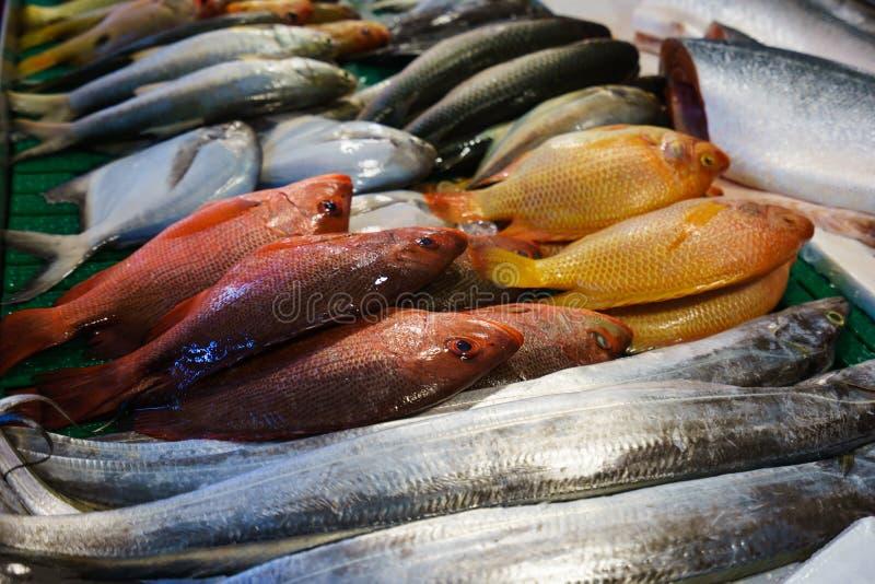 Fish market. In taiwan 2015 stock photo