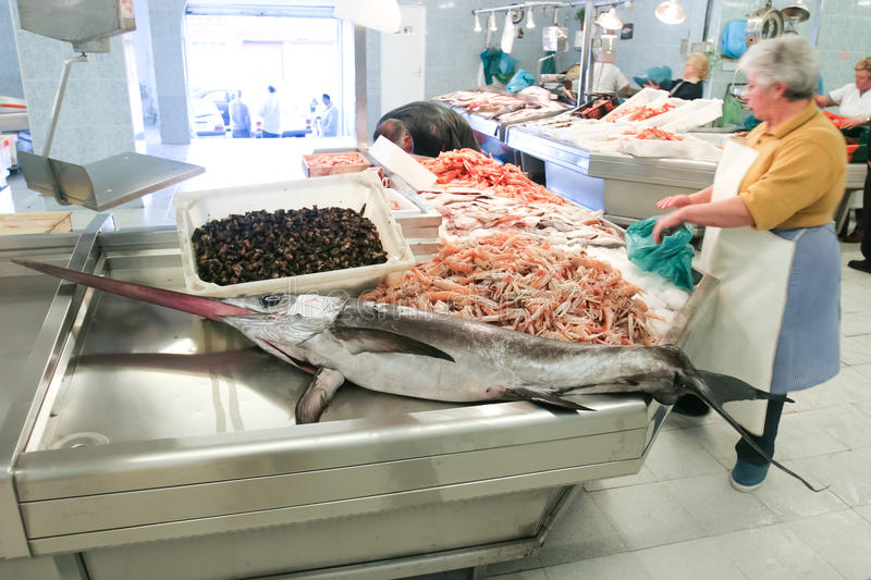 Fish Market, Vigo, Spain.