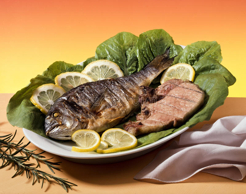 Download Fish And Meat Royalty Free Stock Image - Image: 14864156