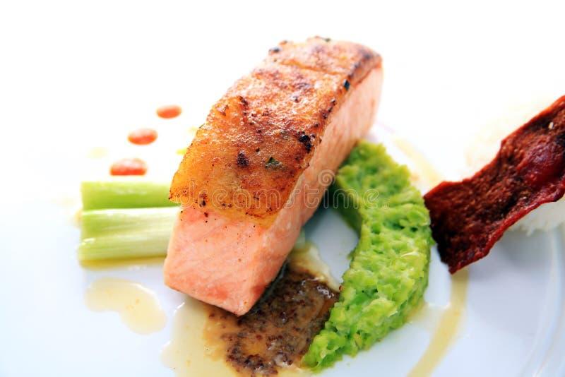 Download Fish Meat Smoked Salmon Fish Stock Image - Image: 21960799