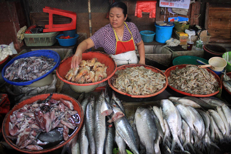 Download Fish editorial photo. Image of indonesia, sell, traditional - 34507031