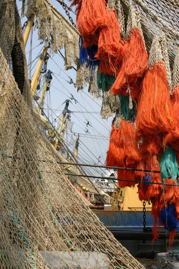 Free Fish Net Stock Image - 756471