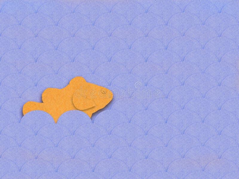 Fish paper royalty free stock photos