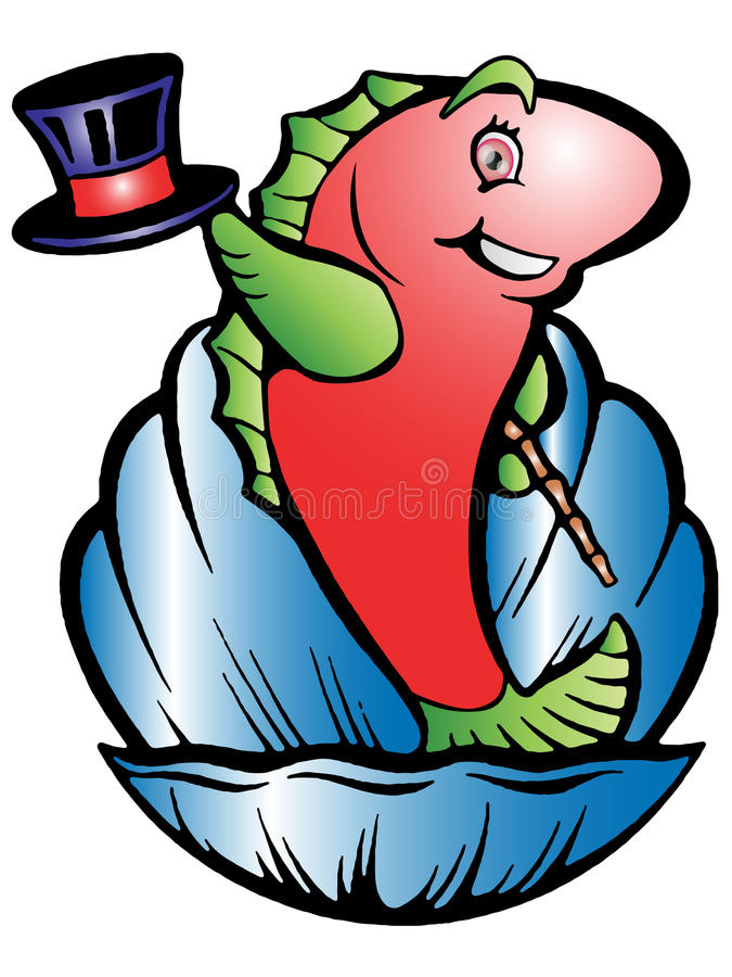 Download The fish performance stock illustration. Illustration of clip - 12705860
