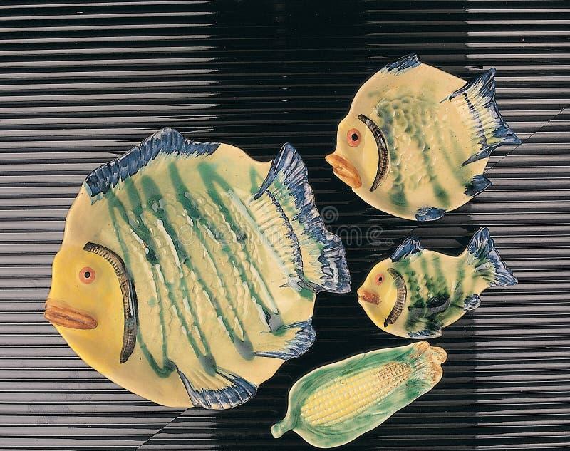 Fish Plates Free Stock Photo