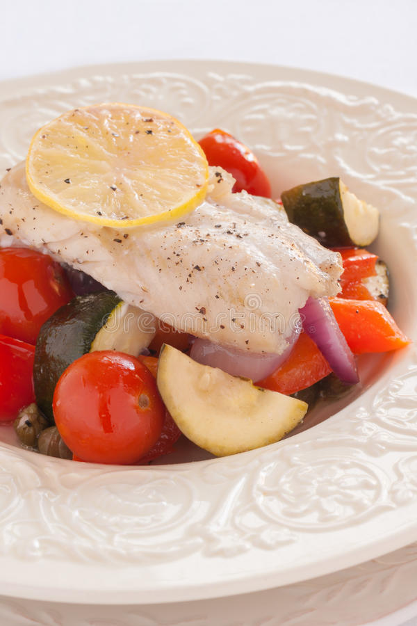 Fish Provencal royalty free stock images