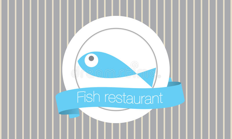 Fish restaurant royalty free stock image