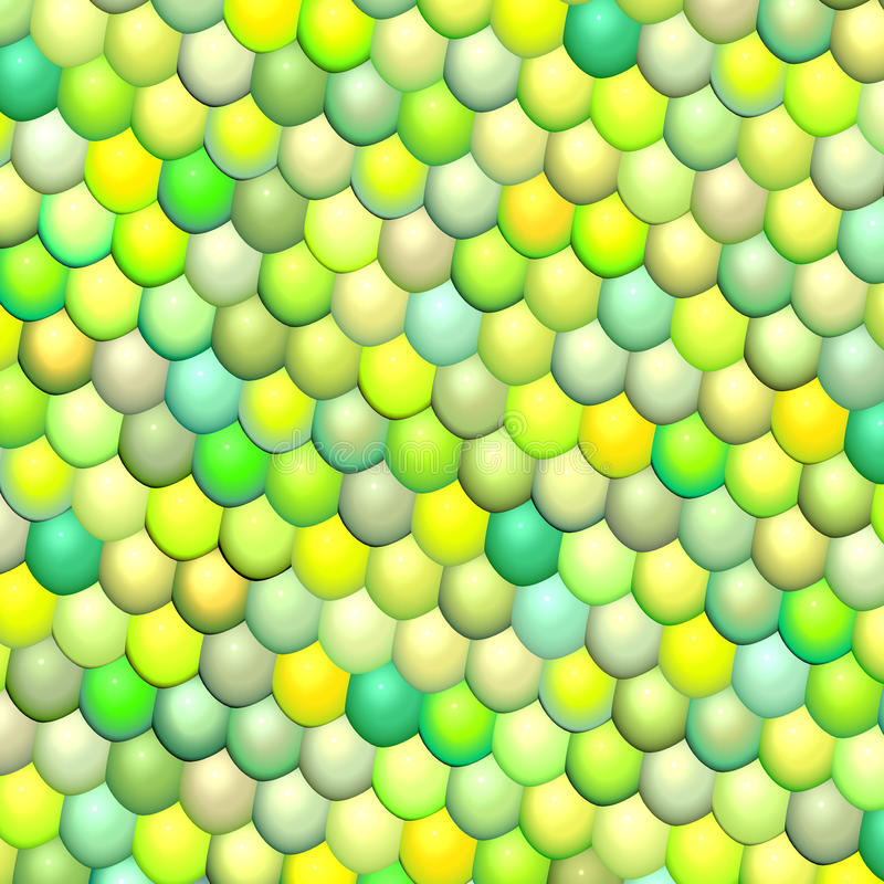 Download Fish Scale Green Abstract Pattern Stock Illustration - Image: 25949199