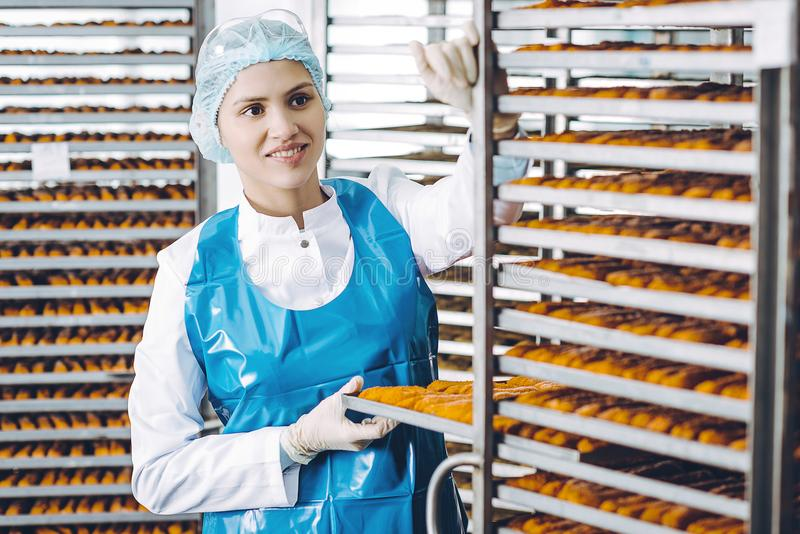 Fish seafood factory royalty free stock photography