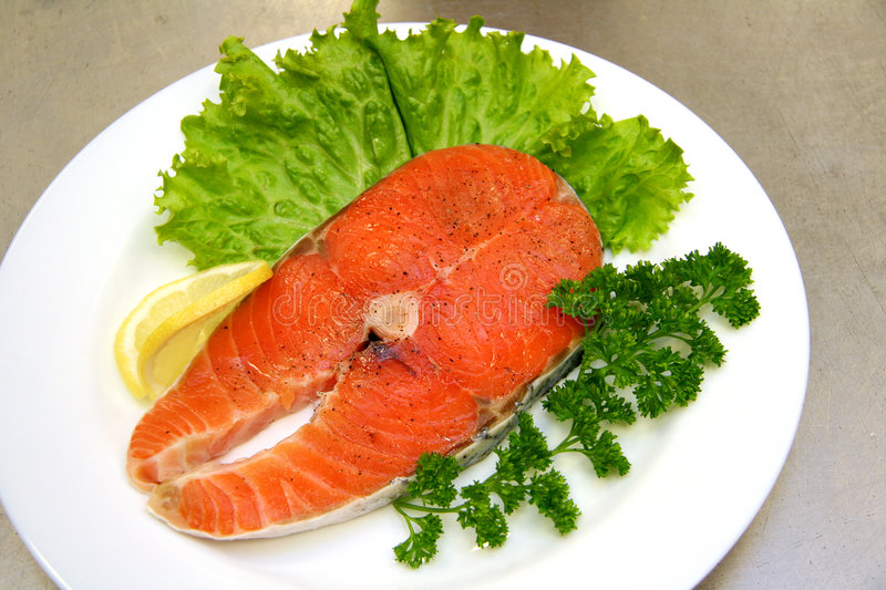 Fish stake stock images