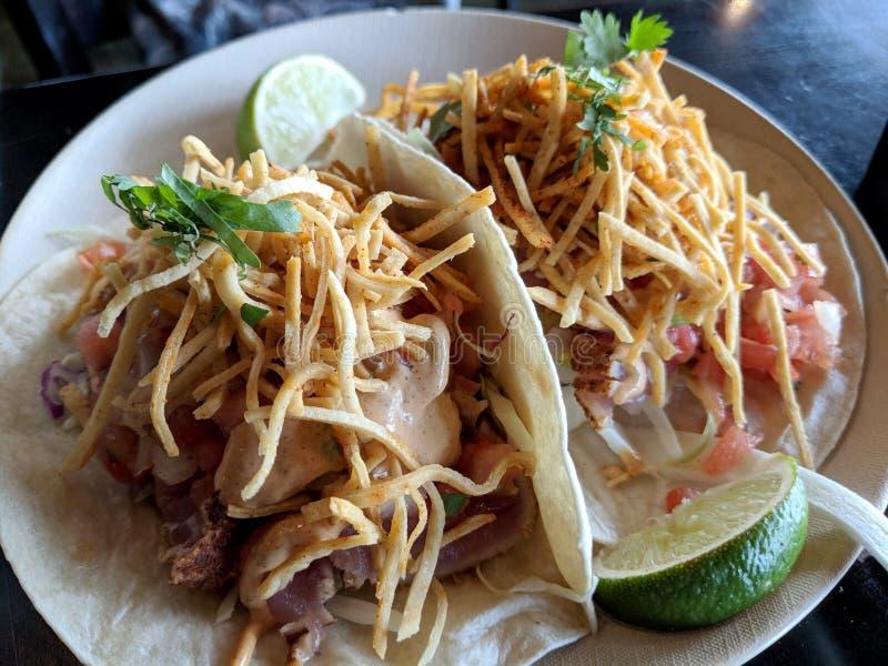 Fish Tacos royalty free stock photography