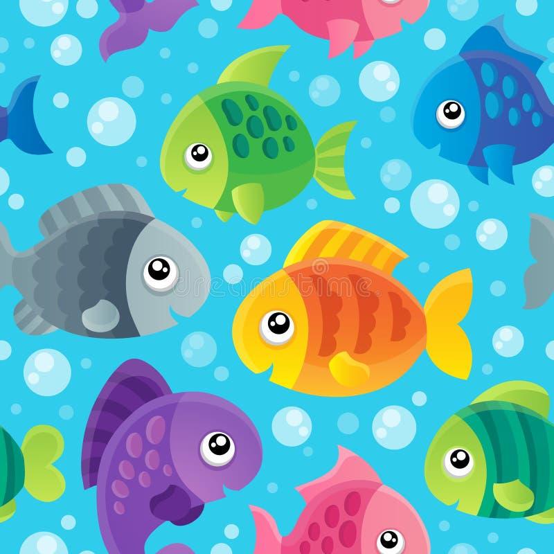 Free Fish Theme Seamless Background 1 Royalty Free Stock Image - 34572716
