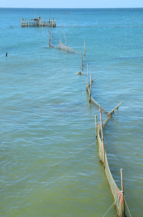 Download Fish trap stock photo. Image of trap, outdoors, water - 26527134