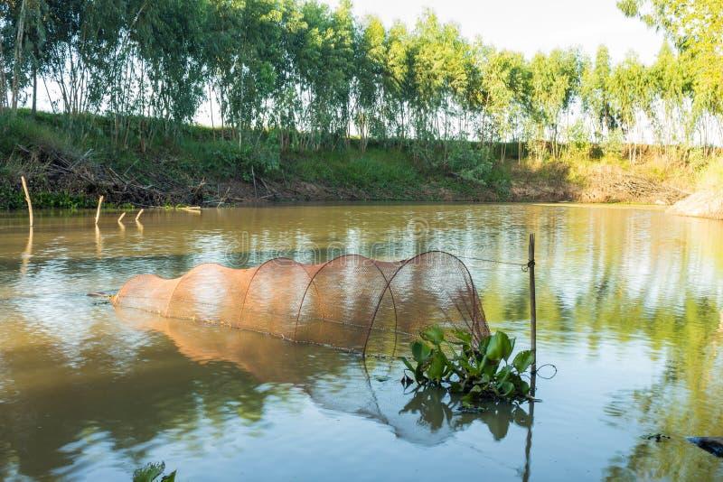 Fish trap stock photos