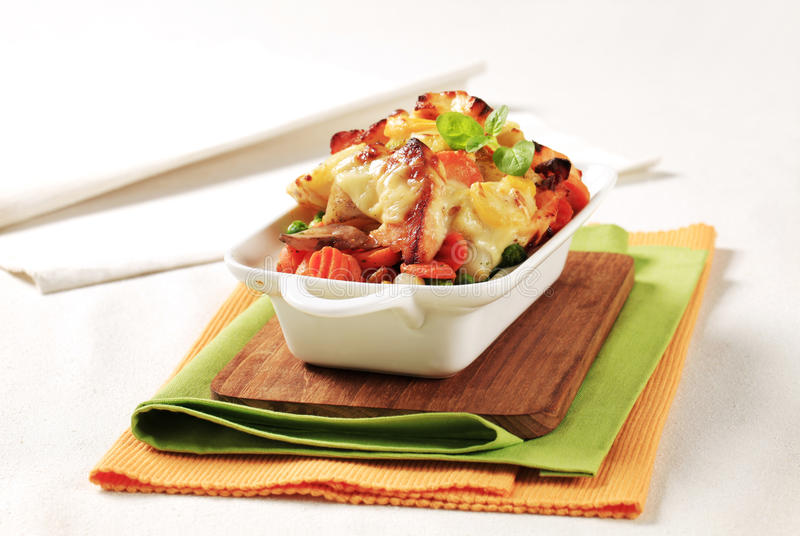 Download Fish And Vegetable Casserole Stock Photo - Image: 20437082