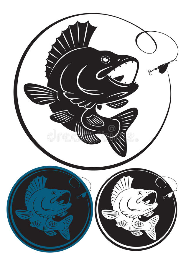 Download Fish walleye stock vector. Illustration of kill, trout - 24939595