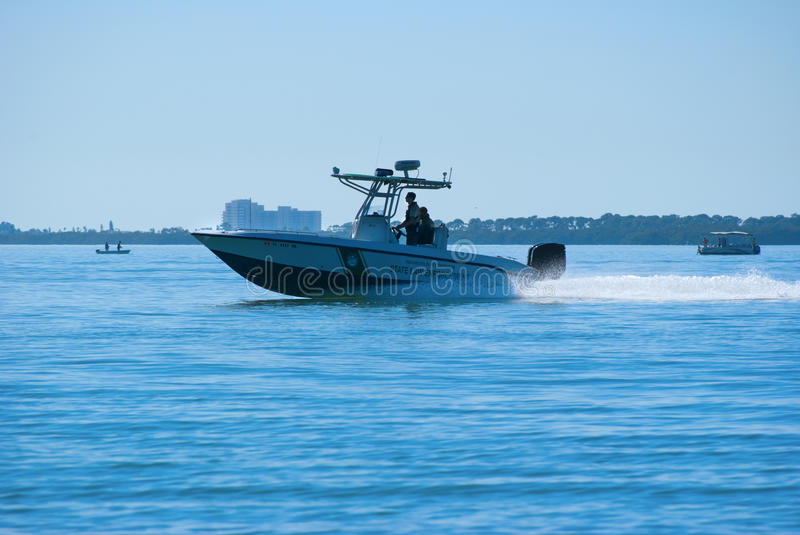 Download Fish And Wildlife Officers On Boat Patrol Editorial Stock Photo - Image: 22831583