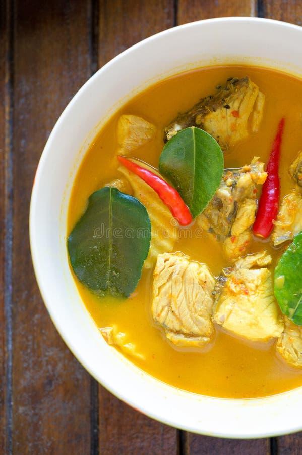Fish Yellow Curry stock photos
