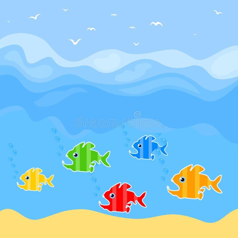 Download Fish7 stock vector. Image of shark, nature, ocean, silhouette - 21520529