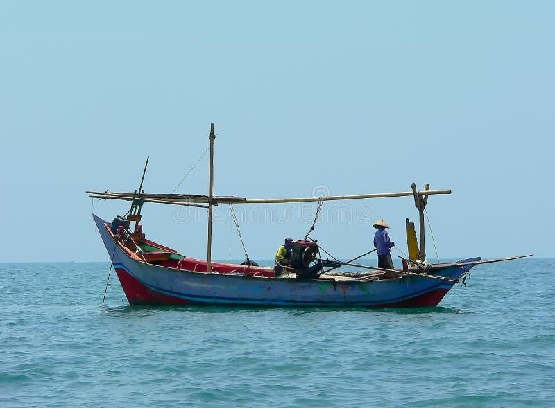 fishboat javanese obraz royalty free