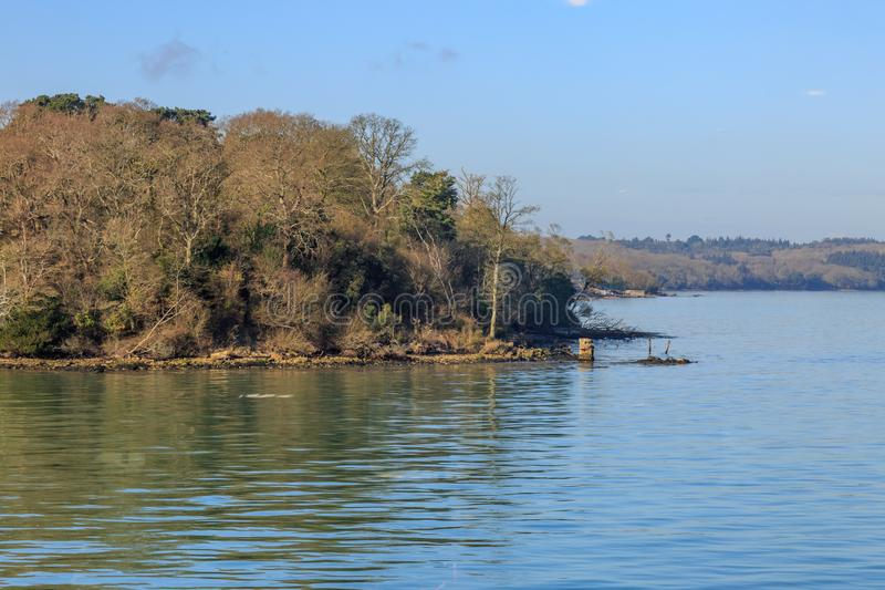 Fishbourne, île de Wight photo stock