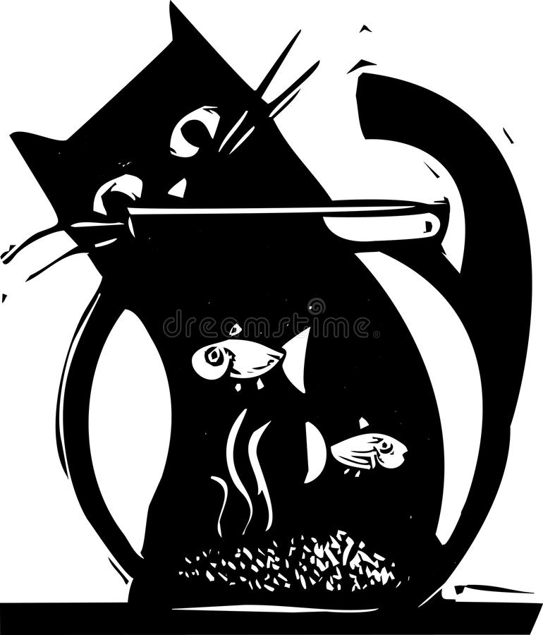 fishbowl 向量例证