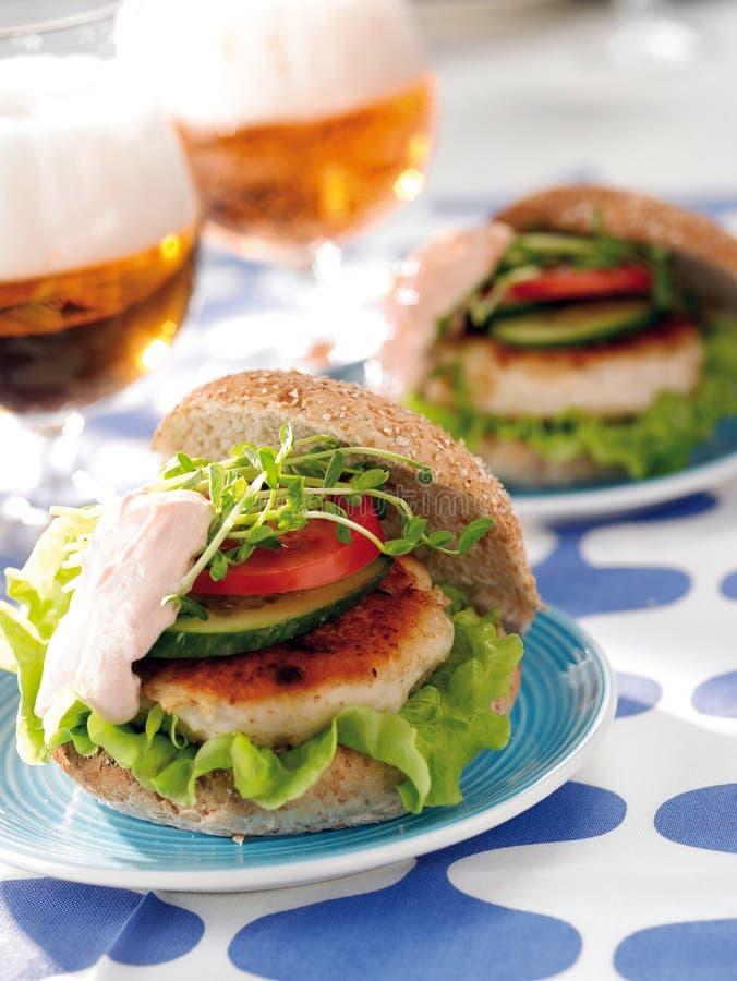 fishburger стоковое фото