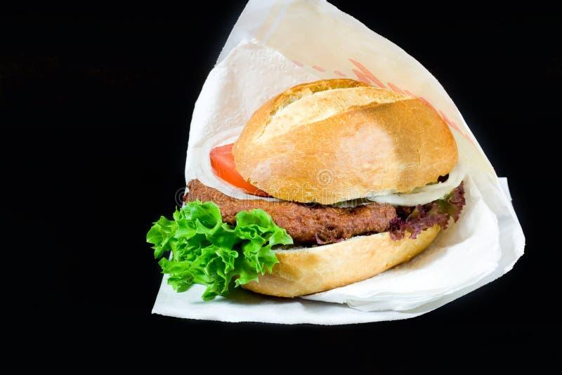 Fishburger στοκ εικόνες με δικαίωμα ελεύθερης χρήσης