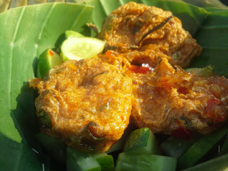 Fishcake Thailand royalty-vrije stock afbeeldingen