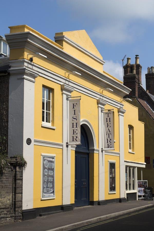 Fisher剧院,邦吉,萨福克,英国 库存图片