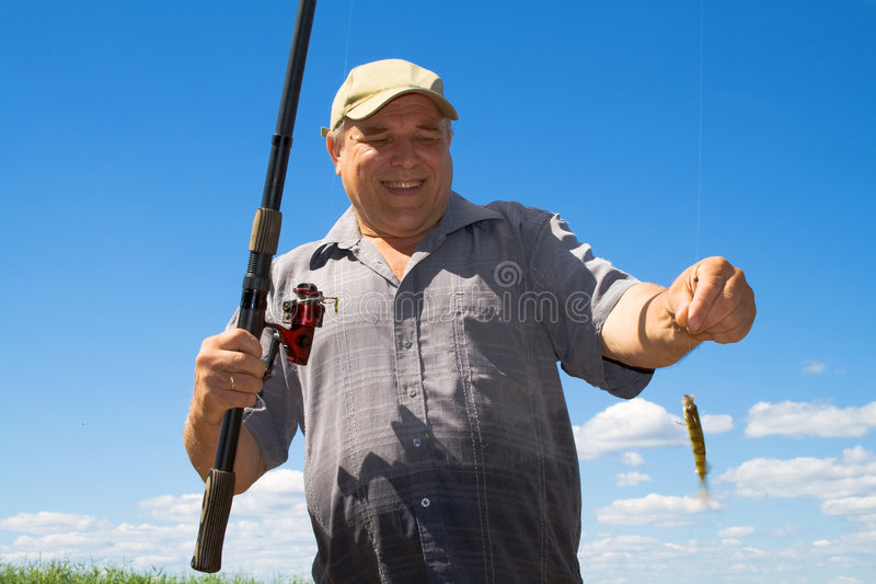 Fisher royalty free stock photos