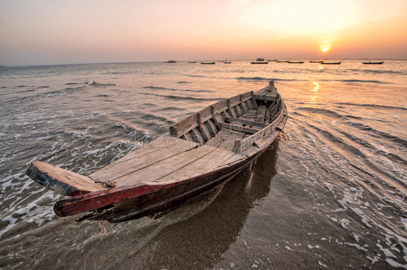 Download Fisher boat stock photo. Image of asian, traffic, nature - 29196052
