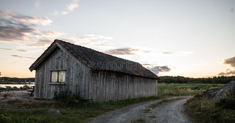 Fisher Cabin fotografie stock libere da diritti