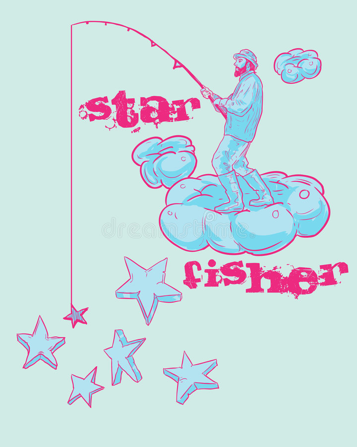 Fisher Design stock illustration