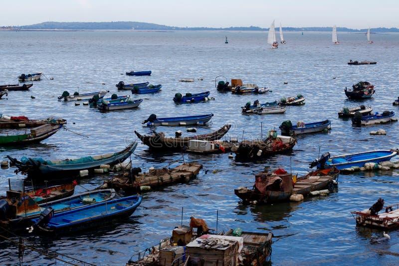 Fisher et navigation photo libre de droits