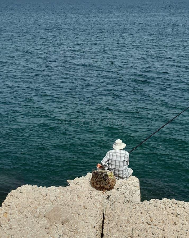Fisher man stock photos