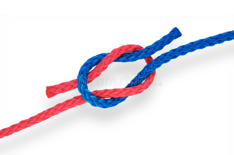 Fisher's knot 01 royalty free stock images