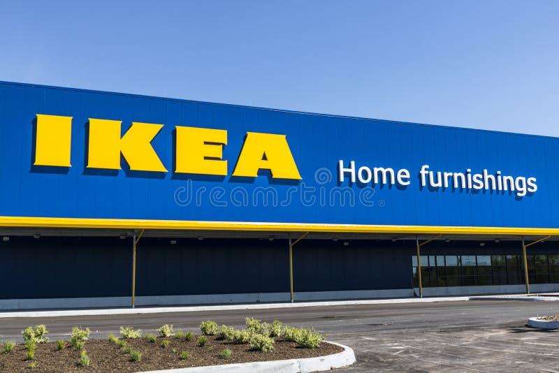 Fisher - vers en mai 2017 : Magasin de mobilier de maison d'IKEA Fondé en Suède, IKEA est détaillant de meubles du ` s du monde l photo stock