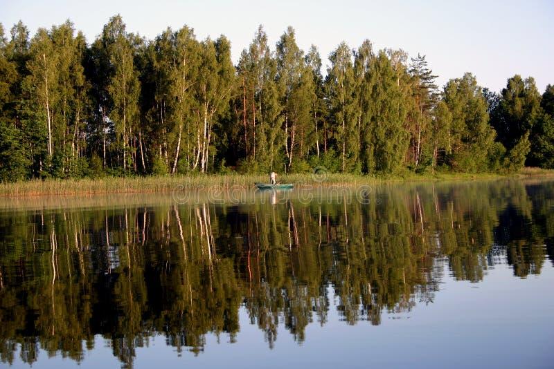 fisher wcześnie rano zdjęcia royalty free