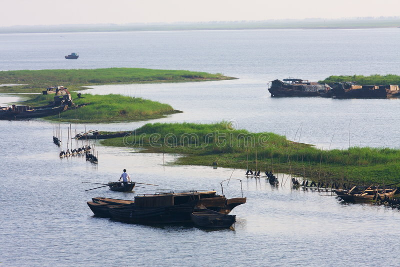 fisherfolk arkivfoto