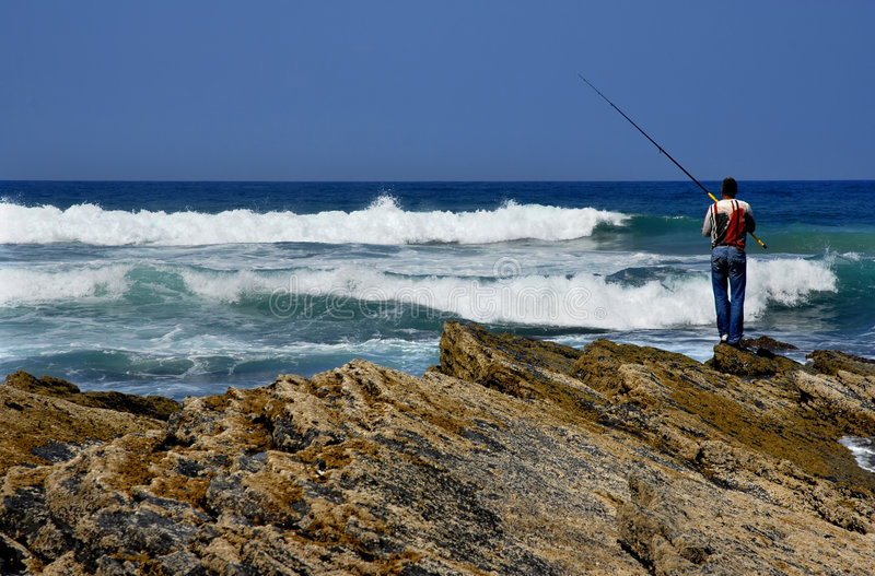 Download Fisherman stock image. Image of back, catch, line, vacation - 3280741