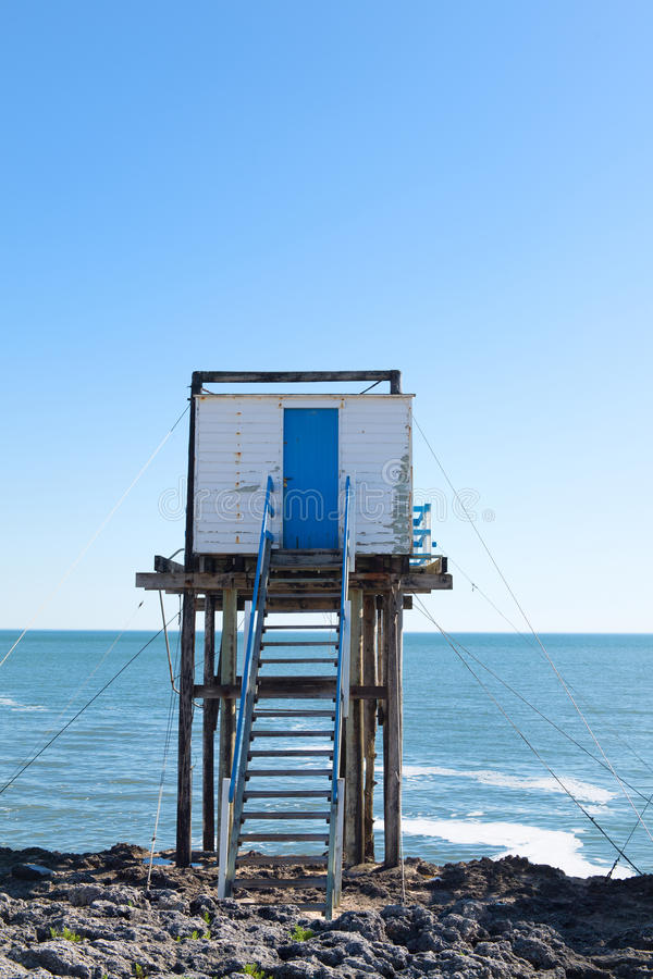 Free Fisherman Huts At The Coast Royalty Free Stock Photo - 95178785