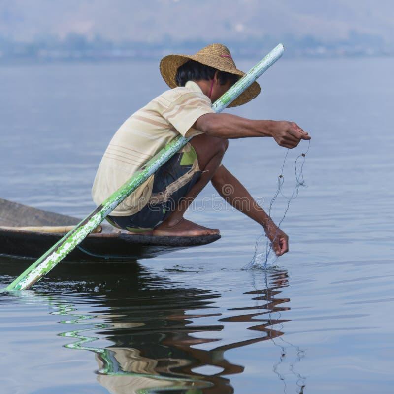 Download Fisherman - Inle Lake - Myanmar Editorial Stock Photo - Image: 32229148