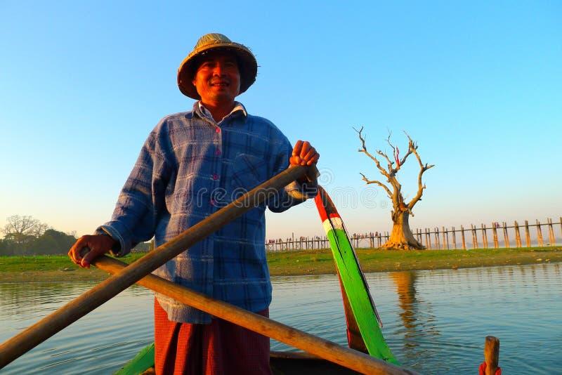 Fisherman in Myanmar
