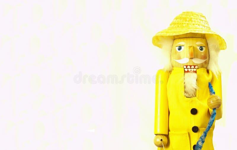 Fisherman Nutcracker Stock Image