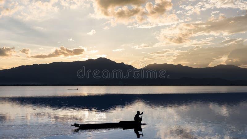 Phayao Lake, Thailand royalty free stock photos
